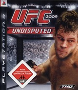 UFC 2009: Undisputed PS3 cover (BLES00539)