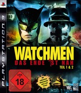 Watchmen: Das Ende Ist Nah - Tail 1&2 PS3 cover (BLES00605)