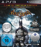 Batman: Arkham Asylum (Game of the Year Edition) PS3 cover (BLES00827)
