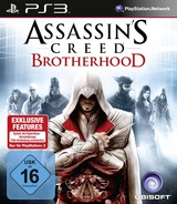 Assassin's Creed: Brotherhood PS3 cover (BLES00910)