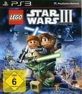 LEGO Star Wars III: The Clone Wars PS3 cover (BLES00934)