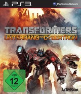 Transformers: Fall of Cybertron PS3 cover (BLES01153)
