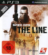 Spec Ops: The Line PS3 cover (BLES01157)