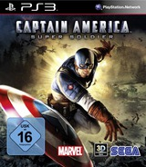 Captain America : Super Soldier PS3 cover (BLES01167)