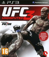 UFC: Undisputed 3 PS3 cover (BLES01231)