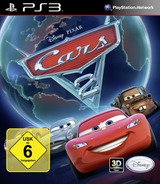 Cars 2: The Video Game PS3 cover (BLES01242)