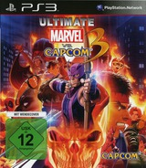 Ultimate Marvel vs Capcom 3 PS3 cover (BLES01355)