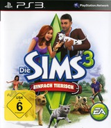 The Sims 3: Einfach Tierisch PS3 cover (BLES01368)