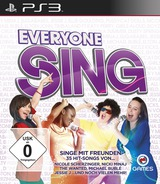 Everyone Sing PS3 cover (BLES01383)