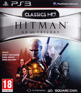 Hitman HD Trilogy PS3 cover (BLES01517)