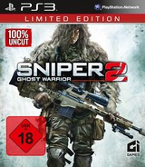 Sniper: Ghost Warrior 2 Limited Edition PS3 cover (BLES01527)