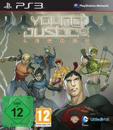 Young Justice: Legacy PS3 cover (BLES01808)