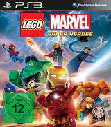 LEGO Marvel Super Heroes PS3 cover (BLES01831)