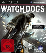Watch Dogs PS3 cover (BLES01854)