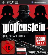 Wolfenstein: The New Order PS3 cover (BLES01909)