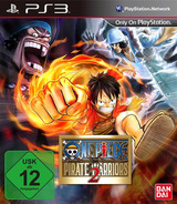 One Piece: Pirate Warriors 2 PS3 cover (BLES01913)