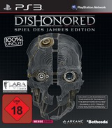 Dishonored: Game of the Year Edition PS3 cover (BLES01925)