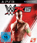 WWE 2K15 PS3 cover (BLES02072)