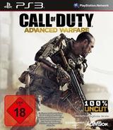 Call of Duty: Advanced Warfare PS3 cover (BLES02077)