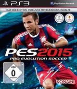 Pro Evolution Soccer 2015 PS3 cover (BLES02087)