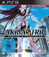 Akiba's Trip: Undead & Undressed PS3 cover (BLES02097)
