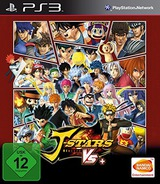 J-Stars Victory VS+ PS3 cover (BLES02136)