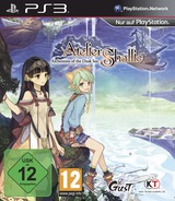 Atelier Shallie: Alchemists of the Dusk Sea PS3 cover (BLES02143)