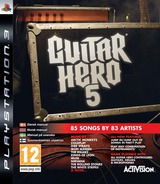 Guitar Hero 5 PS3 cover (BLES00576)