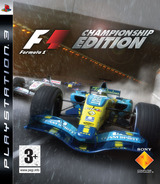 Formula One: Championship Edition PS3 cover (BCES00005)