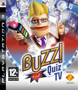 Buzz!: Quiz TV (Special Edition) PS3 cover (BCES00303)