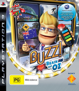 Buzz! Brain of Oz PS3 cover (BCES00363)