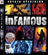 inFamous PS3 cover (BCES00591)
