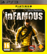 inFamous PS3 cover (BCES00609)