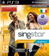 SingStar Cantautori Italiani PS3 cover (BCES01023)