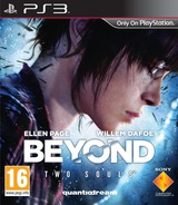 Beyond: Two Souls PS3 cover (BCES01123)