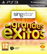 SingStar Grandes Éxitos PS3 cover (BCES01258)