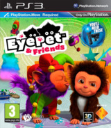 EyePet & Friends PS3 cover (BCES01491)