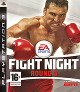 Fight Night: Round 3 PS3 cover (BLES00026)