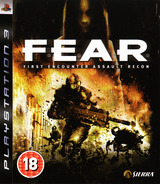 F.E.A.R.: First Encounter Assault Recon PS3 cover (BLES00035)