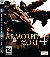 Armored Core 4 PS3 cover (BLES00039)