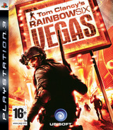 Tom Clancy's Rainbow Six: Vegas PS3 cover (BLES00054)