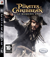 Pirates of the Caribbean: At World's End PS3 cover (BLES00066)