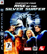 Fantastic Four: Rise of the Silver Surfer PS3 cover (BLES00075)