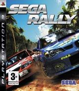 Sega Rally PS3 cover (BLES00107)