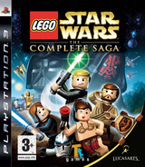 LEGO Star Wars: The Complete Saga PS3 cover (BLES00121)