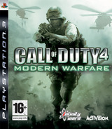 Call of Duty 4: Modern Warfare PS3 cover (BLES00149)