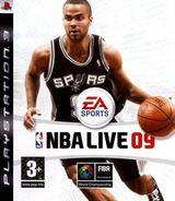 NBA Live 09 PS3 cover (BLES00302)