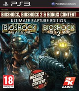 BioShock: Ultimate Rapture Edition PS3 cover (BLES00316)