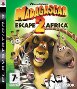 Madagascar: Escape 2 Africa PS3 cover (BLES00394)