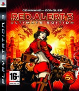 Command & Conquer: Red Alert 3 (Ultimate Edition) PS3 cover (BLES00507)